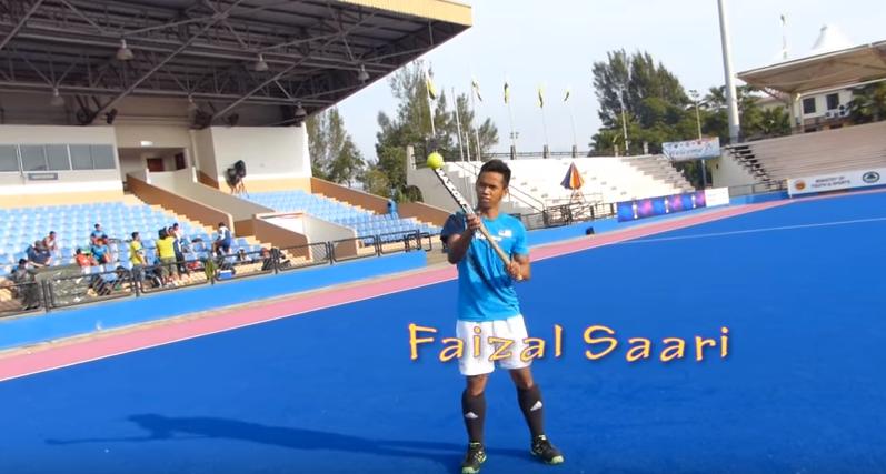 3Faozal Saari Awesome Field Hockey Skills by World Cup Players   YouTube