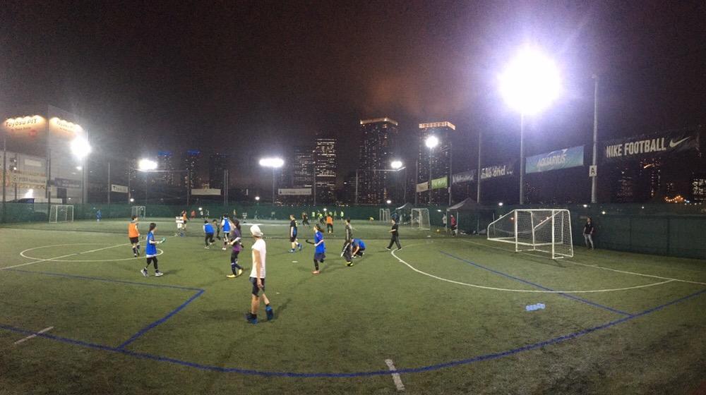 7月に新豊洲にあるMIFA Football Parkで開催した時の様子。