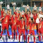 初のアジア大会優勝を飾った「サムライジャパン」 出典元:http://www.asiahockey.org/