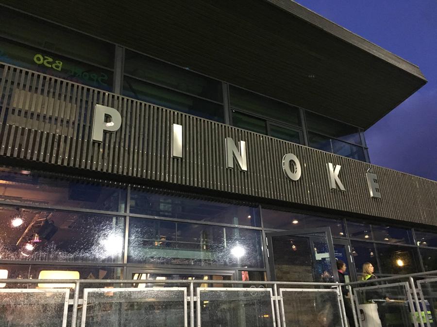 アムステルダムにあるPinokéのスタジアム。オランダのリーグは休日だけでなく金曜日の夜にも行われる。 写真/藤本一平