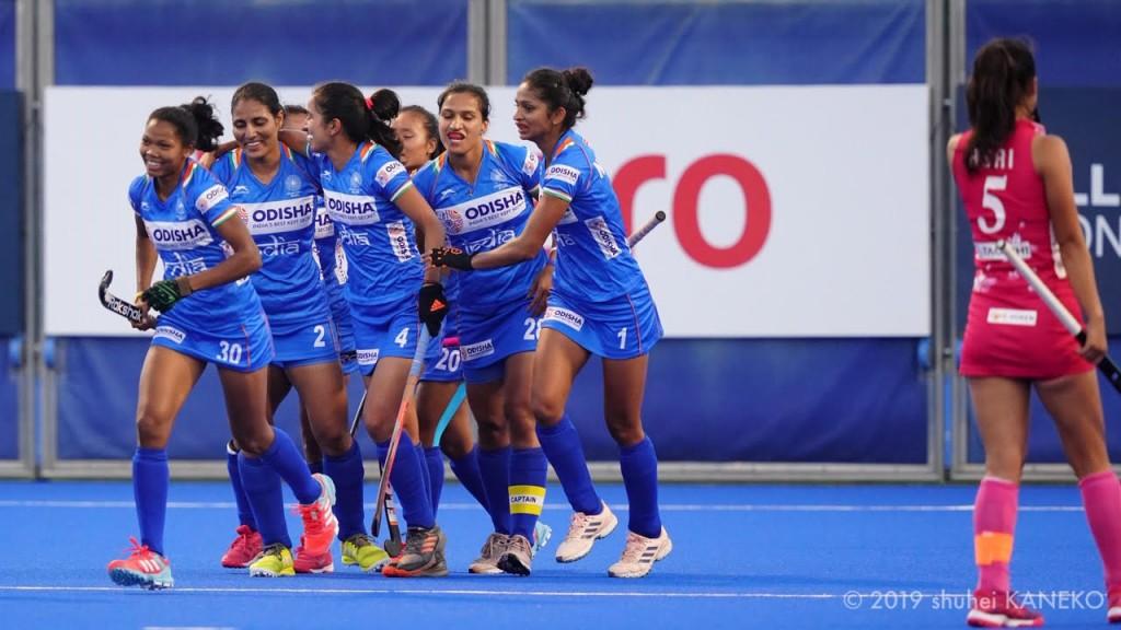 インドの3ゴールはすべてペナルティーコーナーからだった。写真/金子周平