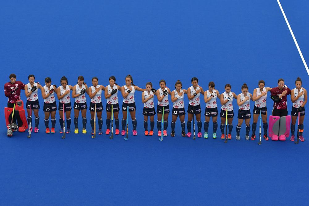 世界ランキング1位のオランダに挑むさくらジャパン/写真 中村雄紀夫