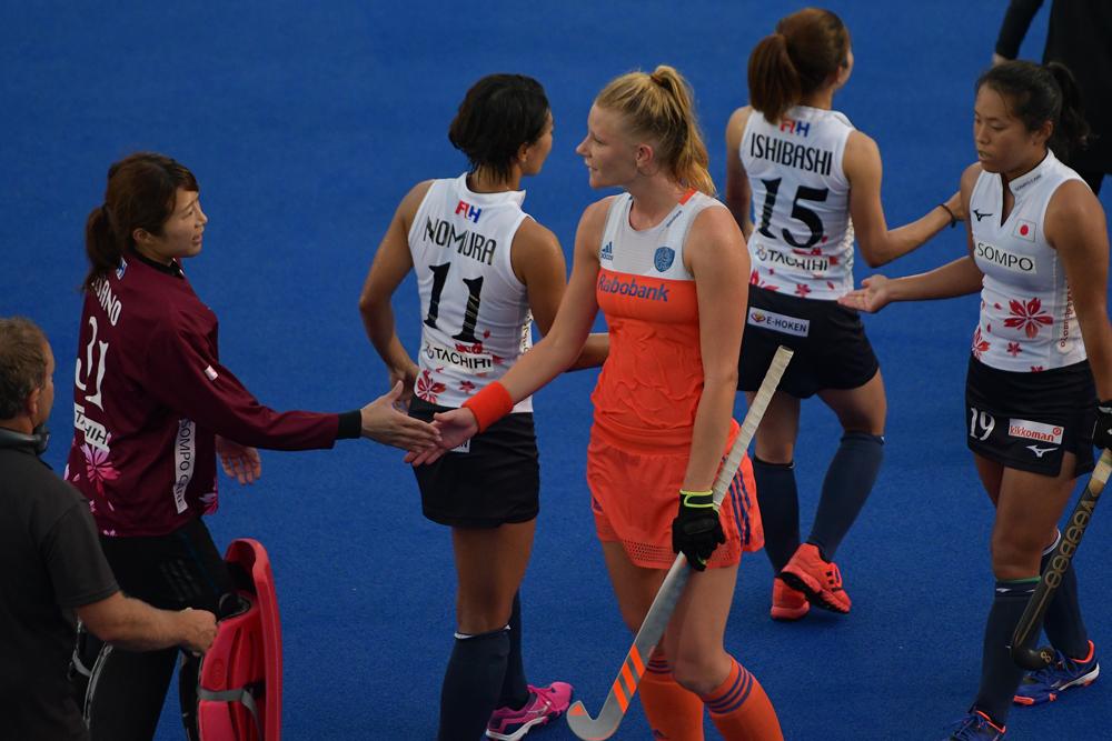 オランダとのテストマッチは2敗の結果となった