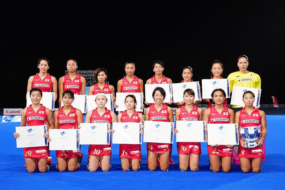 大会を2位で終えたさくらジャパン 写真/金子周平