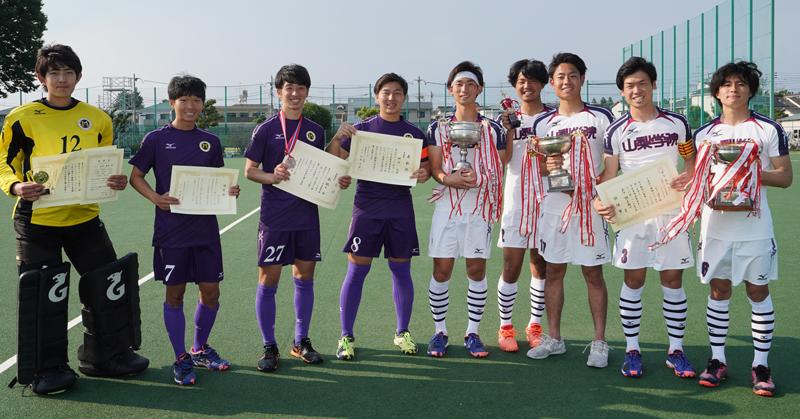 女子山梨学院大が53季連続53回目の優勝を飾る/関東学生ホッケー春季リーグ