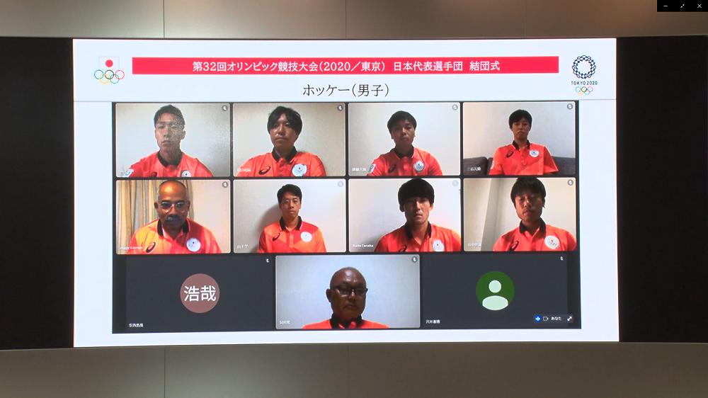 サムライジャパン選手団 ©日本オリンピック委員会